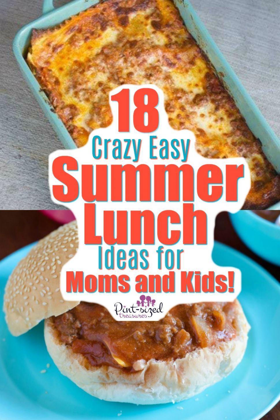 8 Crazy Easy Summer Lunch Ideas for Moms and Kids · Pint-sized ...