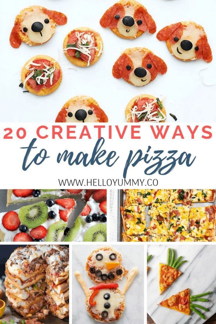 8 Creative Ways to Make Pizza for Kids in 88 | Kid friendly ..