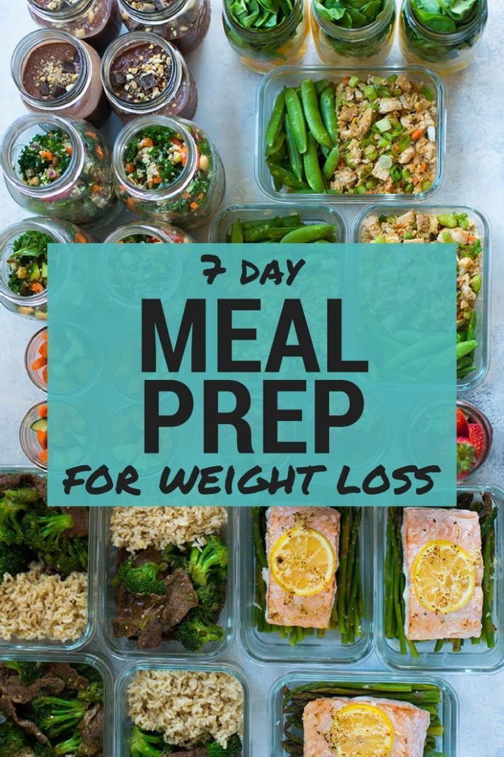 8 Day Meal Plan For Weight Loss