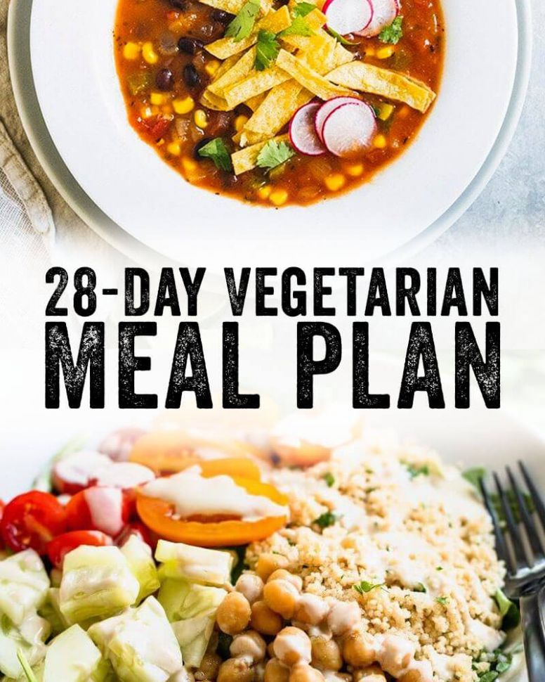 8 Day Vegetarian Meal Plan – A Couple Cooks