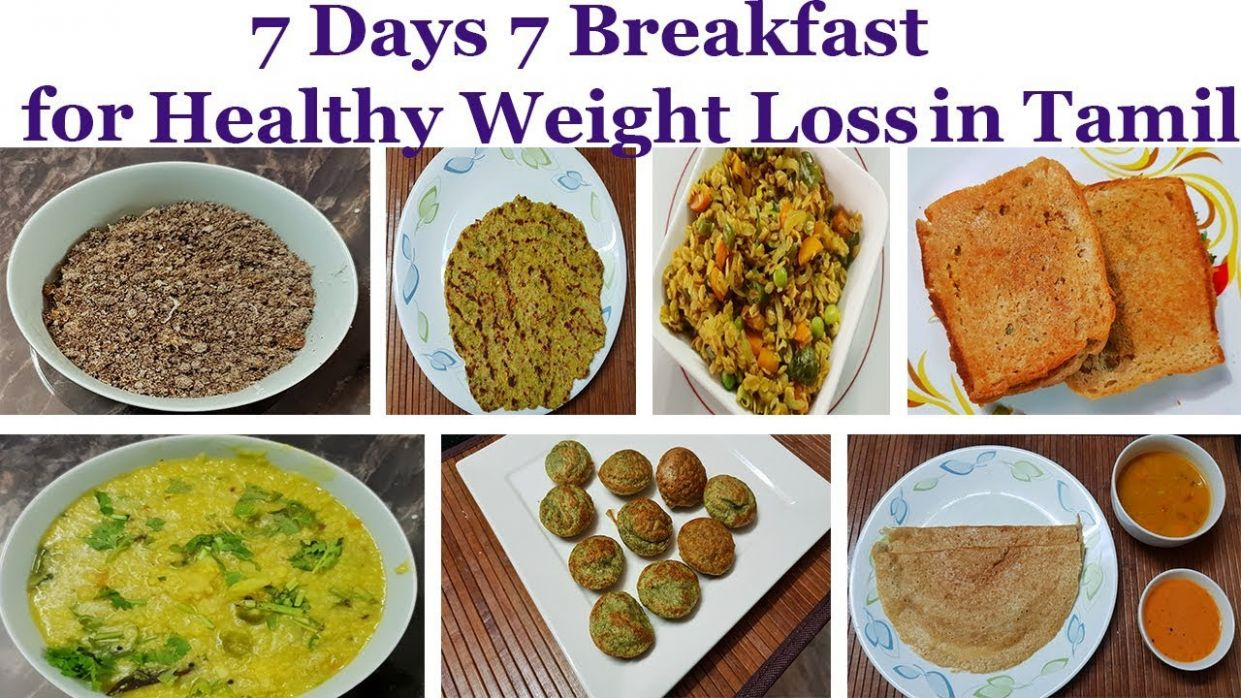 8 Days 8 Breakfast Recipes in Tamil || 8 Days 8 Healthy Breakfast ...