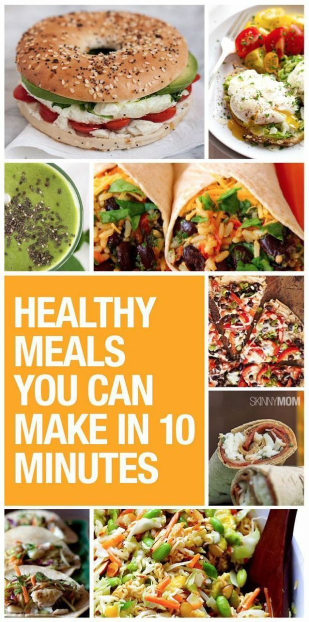 8 Days of 8-Minute Meals for Busy, Healthy Women | Healthy eating ...