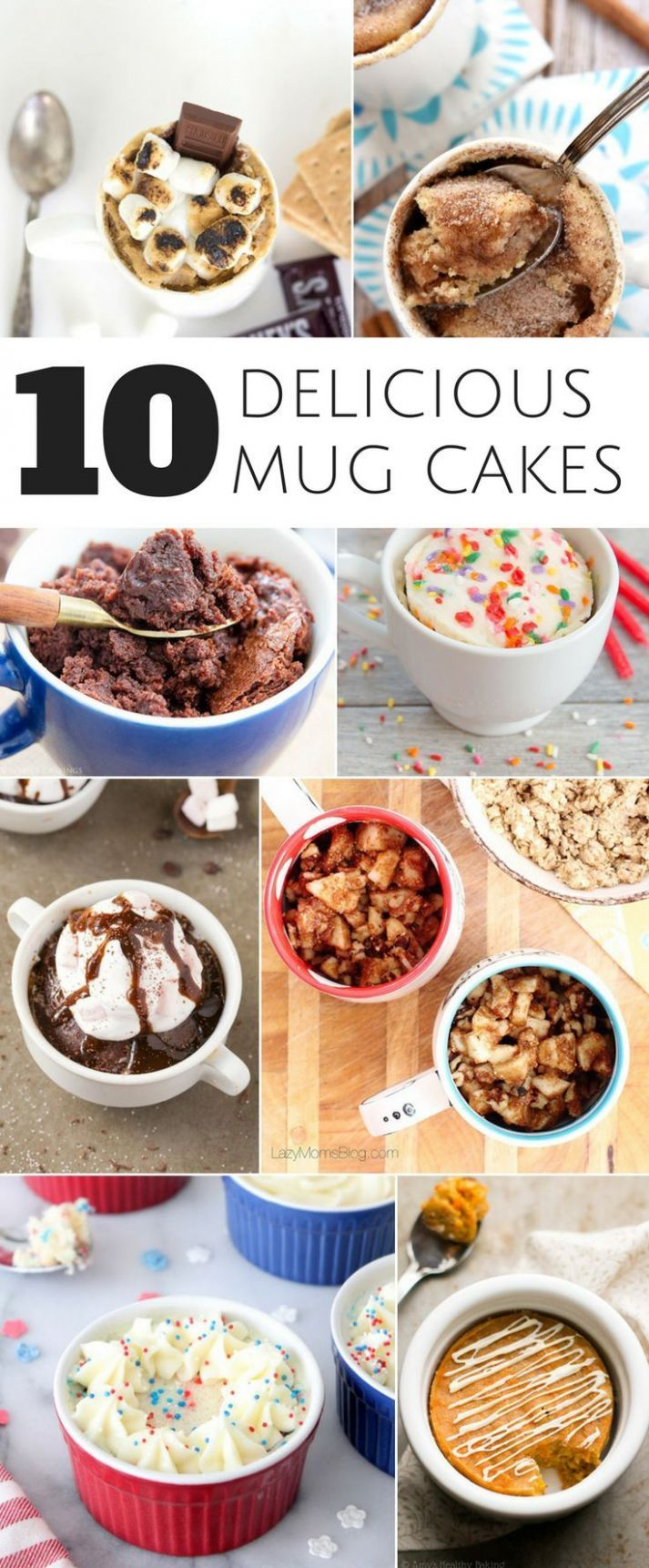 8 DELICIOUS AND KID-FRIENDLY MUG CAKE RECIPES | Cake recipes for ..