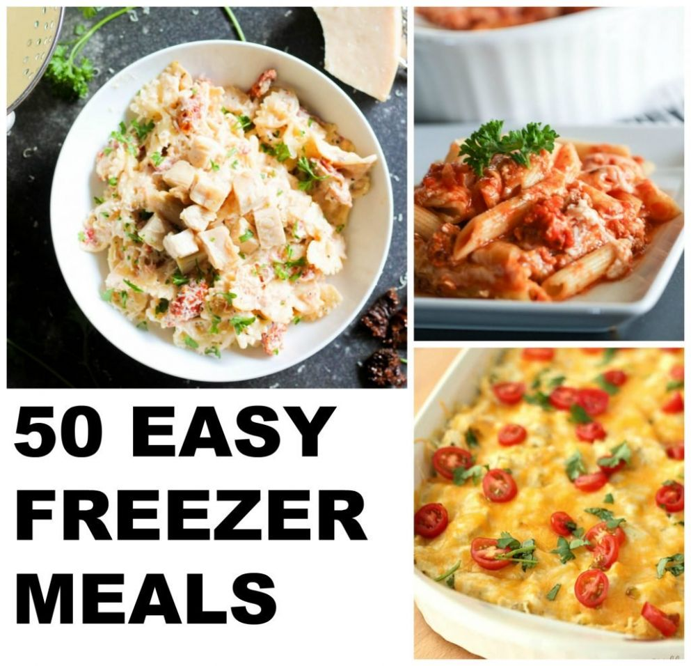 8 Delicious Freezer Meals | Six Sisters' Stuff