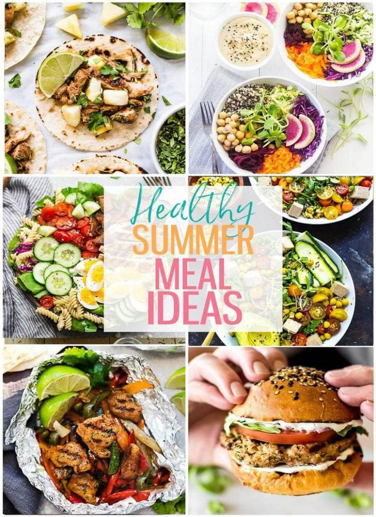 8 Delicious Healthy Summer Recipes - The Girl on Bloor - Recipes Summer Meals