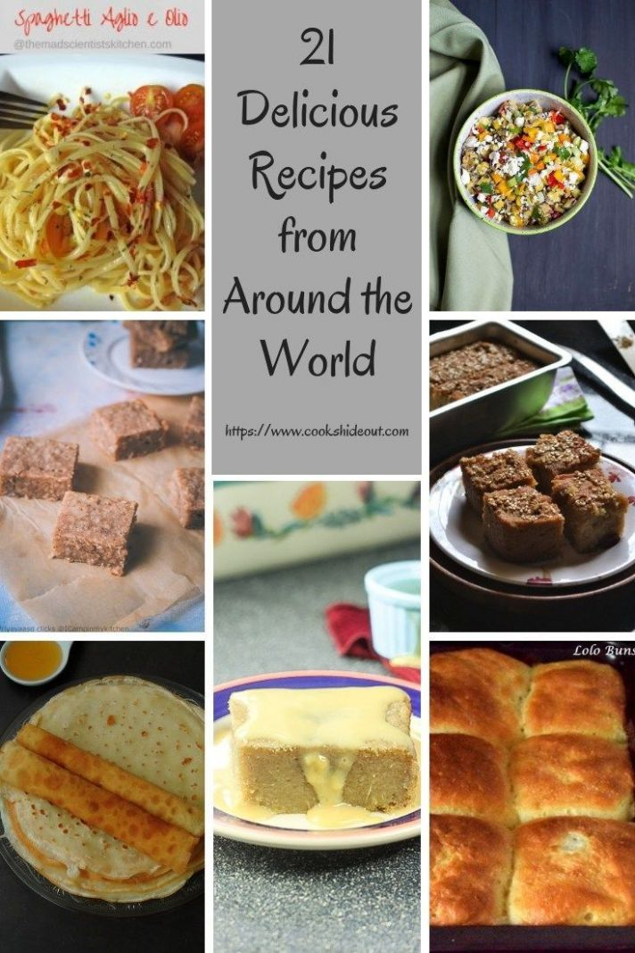 8 Dishes from Around the World | World recipes, Around the world ..