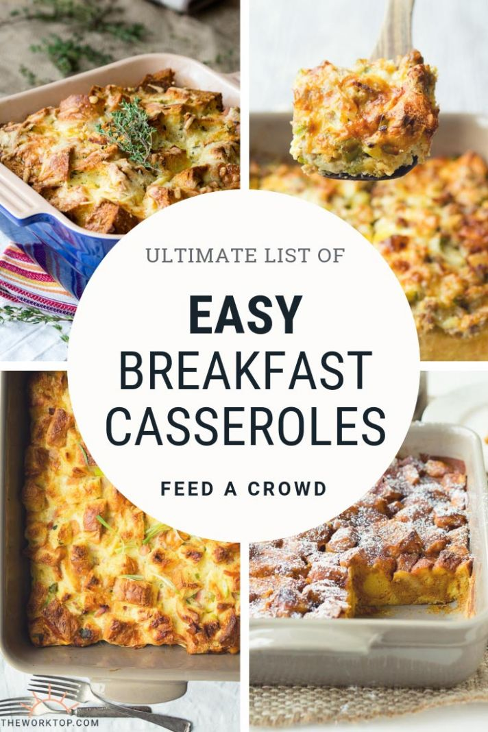 8 Easy Breakfast Casserole Recipes | The Worktop - Breakfast ...