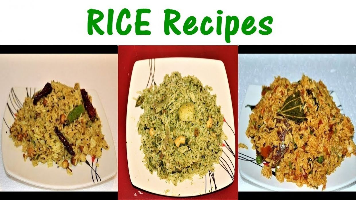 8 Easy Breakfast Recipes | 8 Different Rice Recipes|Quick and Easy Rice  Recipes