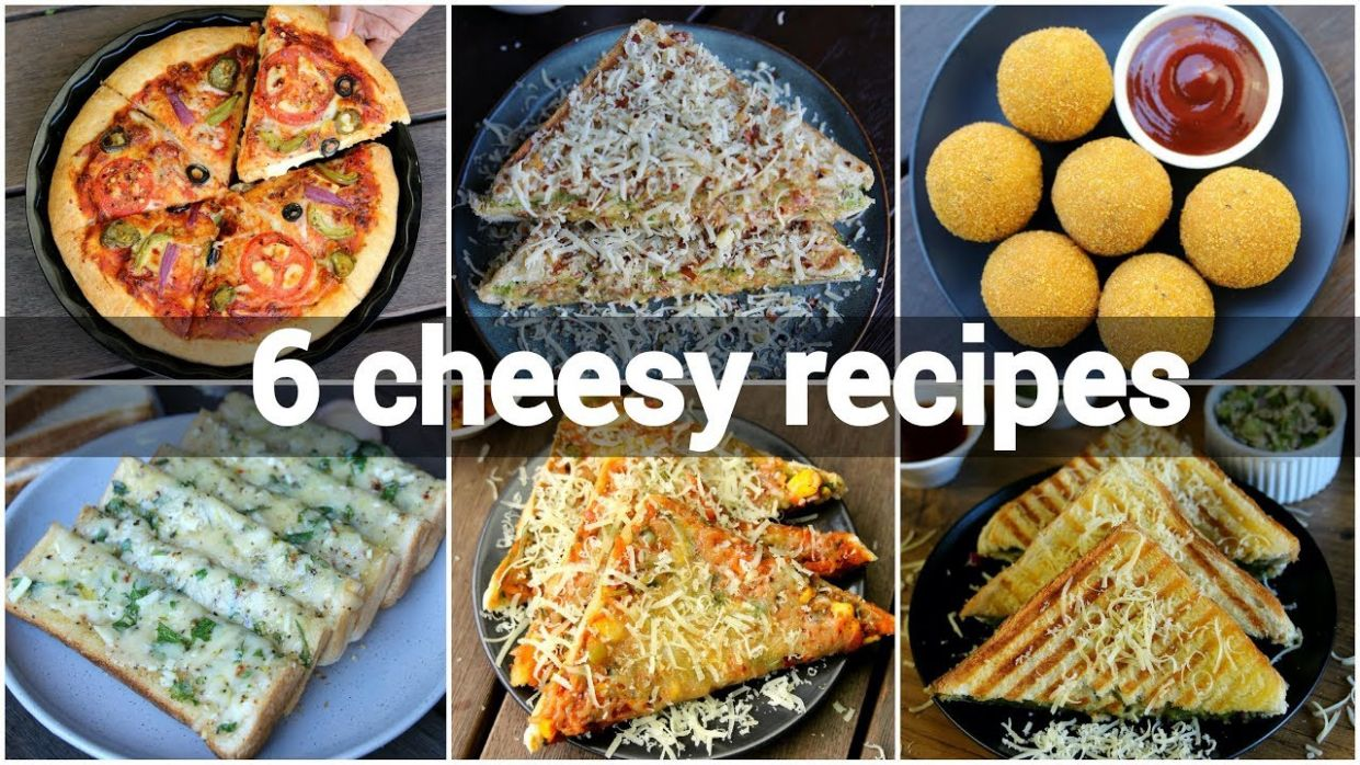 8 easy cheesy snack recipes collection | simple recipes with cheese |  mozzarella cheese indian - Simple Recipes With Cheese