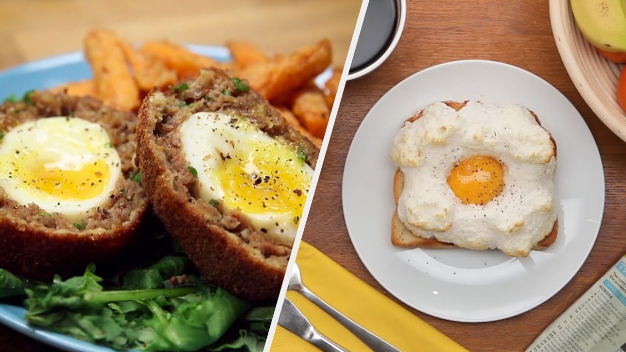 8 Easy Egg Recipes You'll Crave Everyday • Tasty