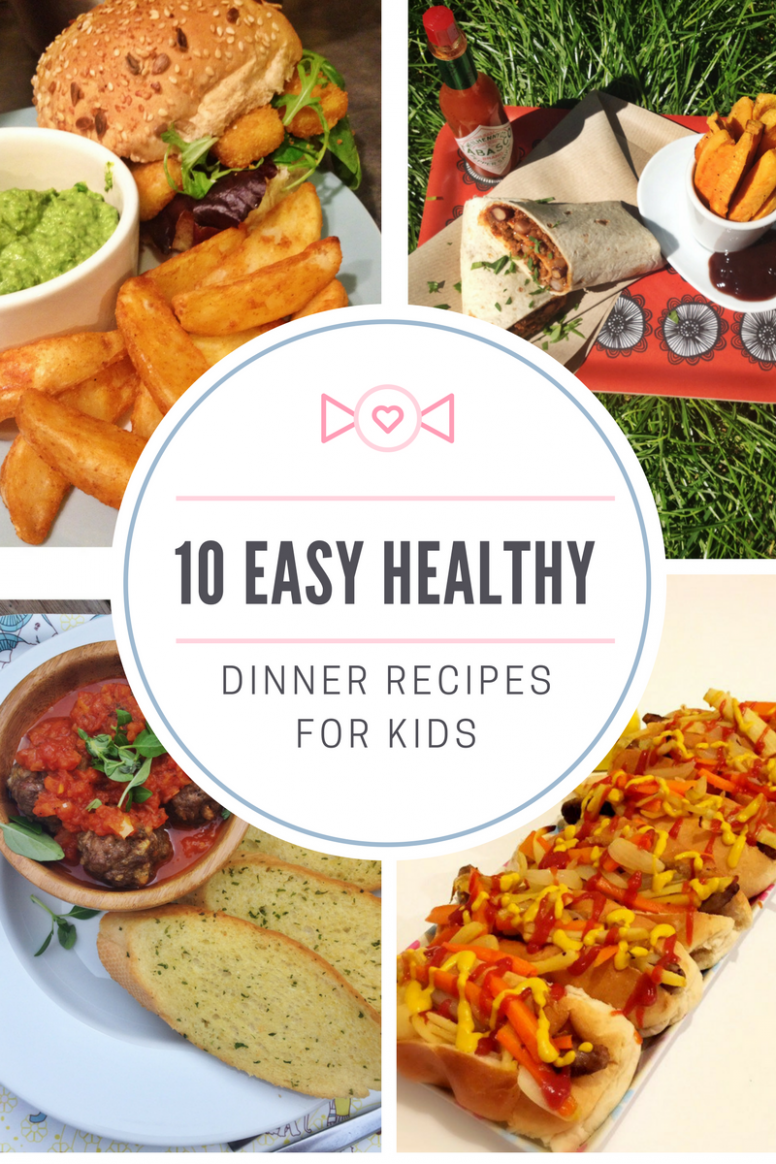 8 easy healthy dinner recipes for kids | Daisies & Pie