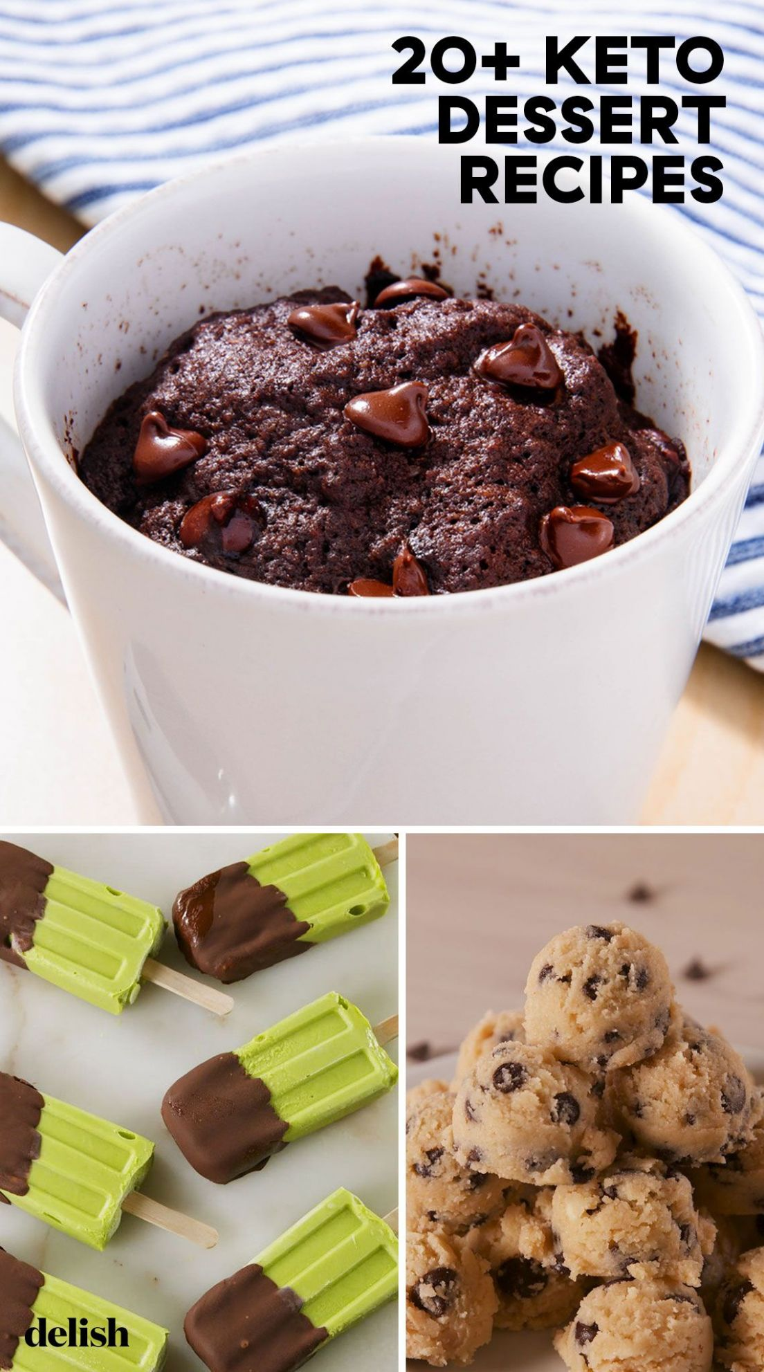 8+ Easy Keto Dessert Recipes - Best Low Carb Desserts for Keto Diets