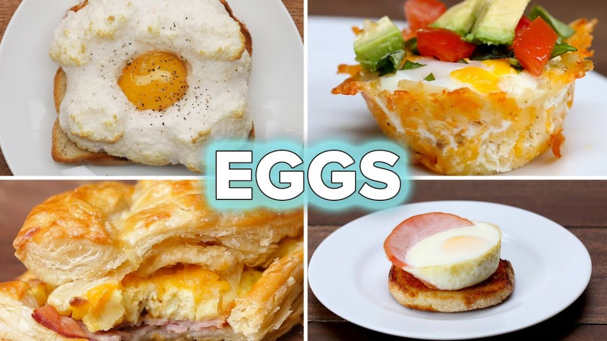 8 Egg Recipes For Breakfast Lovers • Tasty - Breakfast Recipes Using Eggs