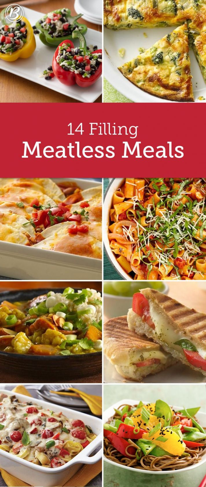 8 Filling Meals Made Without Meat in 8 | Meals without meat ...