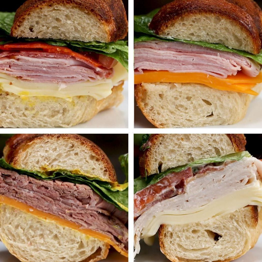 8-Flavor Sandwich Ring - Recipes For Sandwich Ring