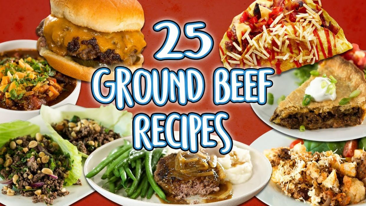 8 Ground Beef Recipes | Easy How To Recipe Compilation | Well Done - Beef Recipes Video