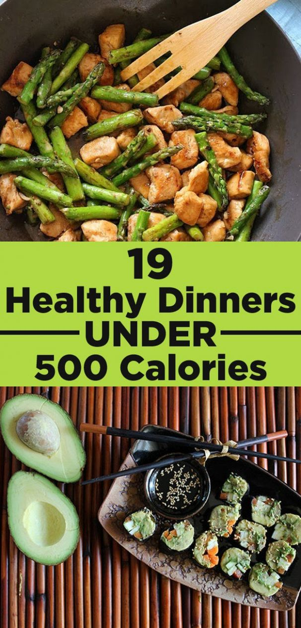 8 Healthy Dinners Under 8 Calories That You'll Actually Want To Eat