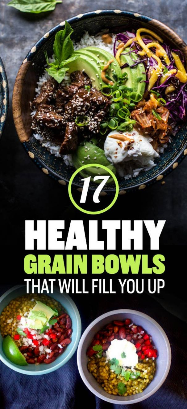 8 Healthy Grain Bowls You Should Make For Dinner - Healthy Recipes Buzzfeed
