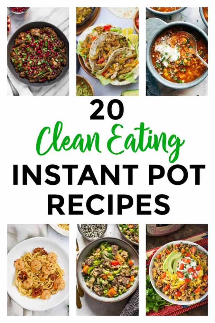 8 Healthy Instant Pot Recipes | The Gracious Pantry | Clean Eating