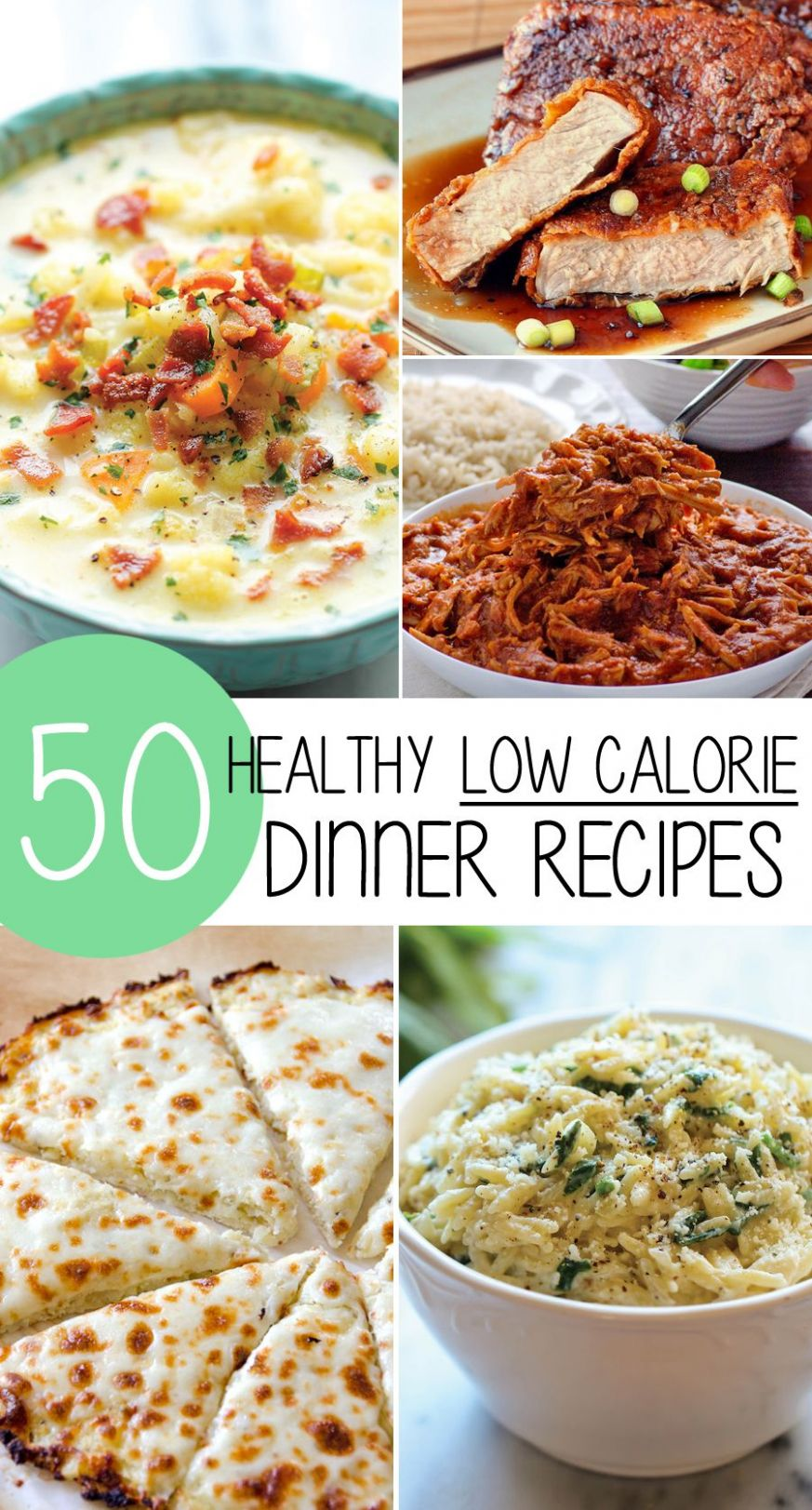 8 Healthy Low Calorie Weight Loss Dinner Recipes! | Recipes ..