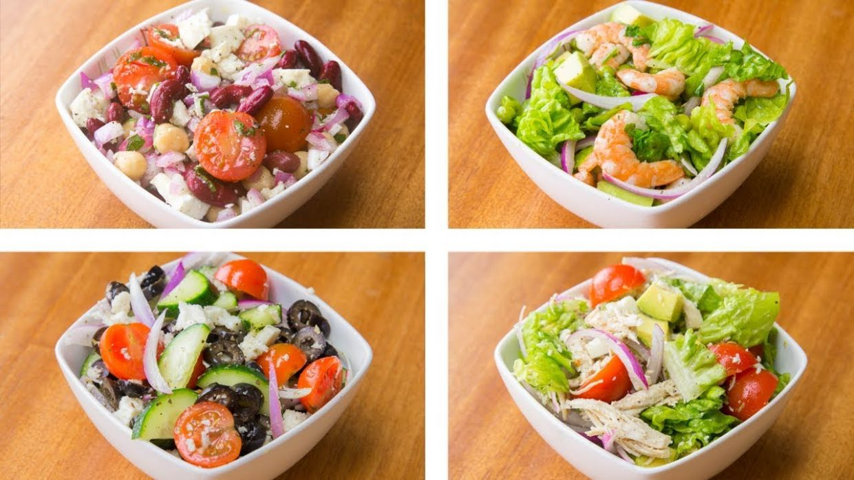 8 Healthy Salad Recipes For Weight Loss | Easy Salad Recipes - Healthy Recipes For Weight Loss Easy