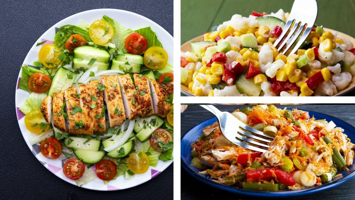 8 Healthy Salad Recipes For Weight Loss