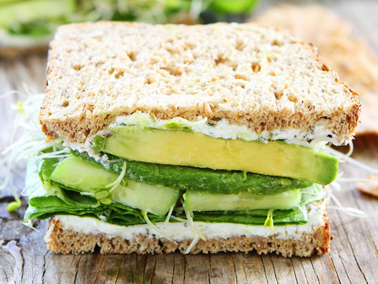 8 High-Protein Meatless Sandwich Recipes | SELF
