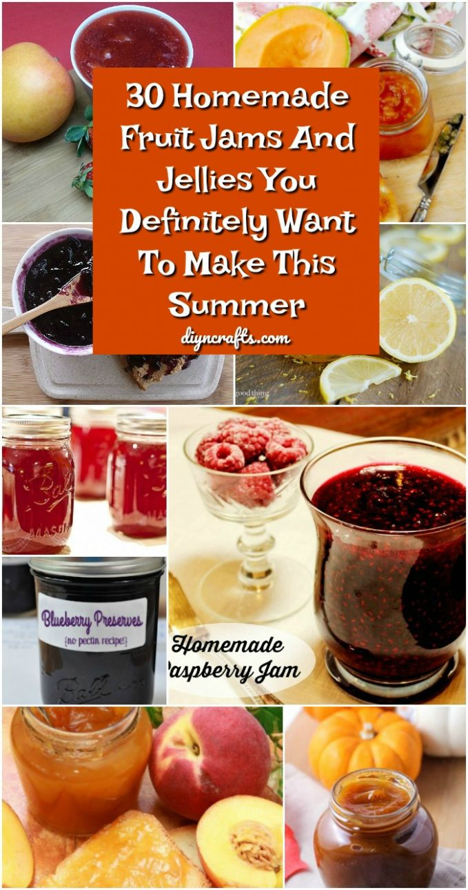 8 Homemade Fruit Jams And Jellies You Definitely Want To Make ..