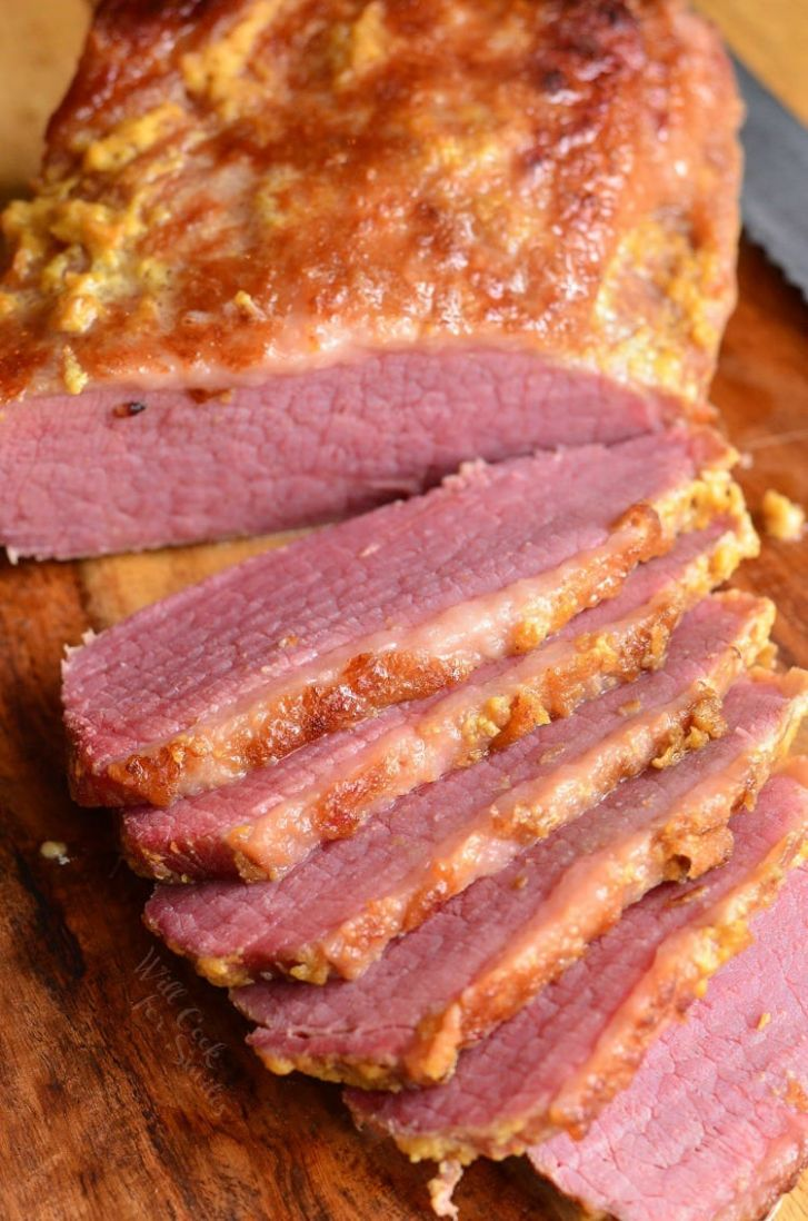 8-Ingredient Oven Baked Corned Beef Brisket - Will Cook For Smiles - Bully Beef Recipes Za