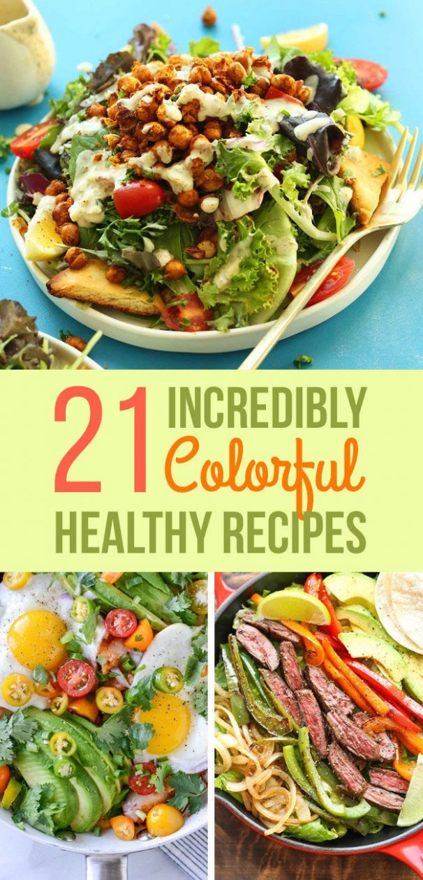 8 Insanely Colorful Meals That Are Healthy AF - Healthy Recipes Buzzfeed