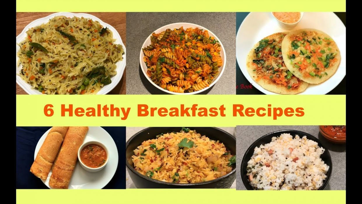 8 Instant Breakfast Recipes | Quick Indian Breakfast Recipes | Instant  Breakfast Ideas | Recipe Book