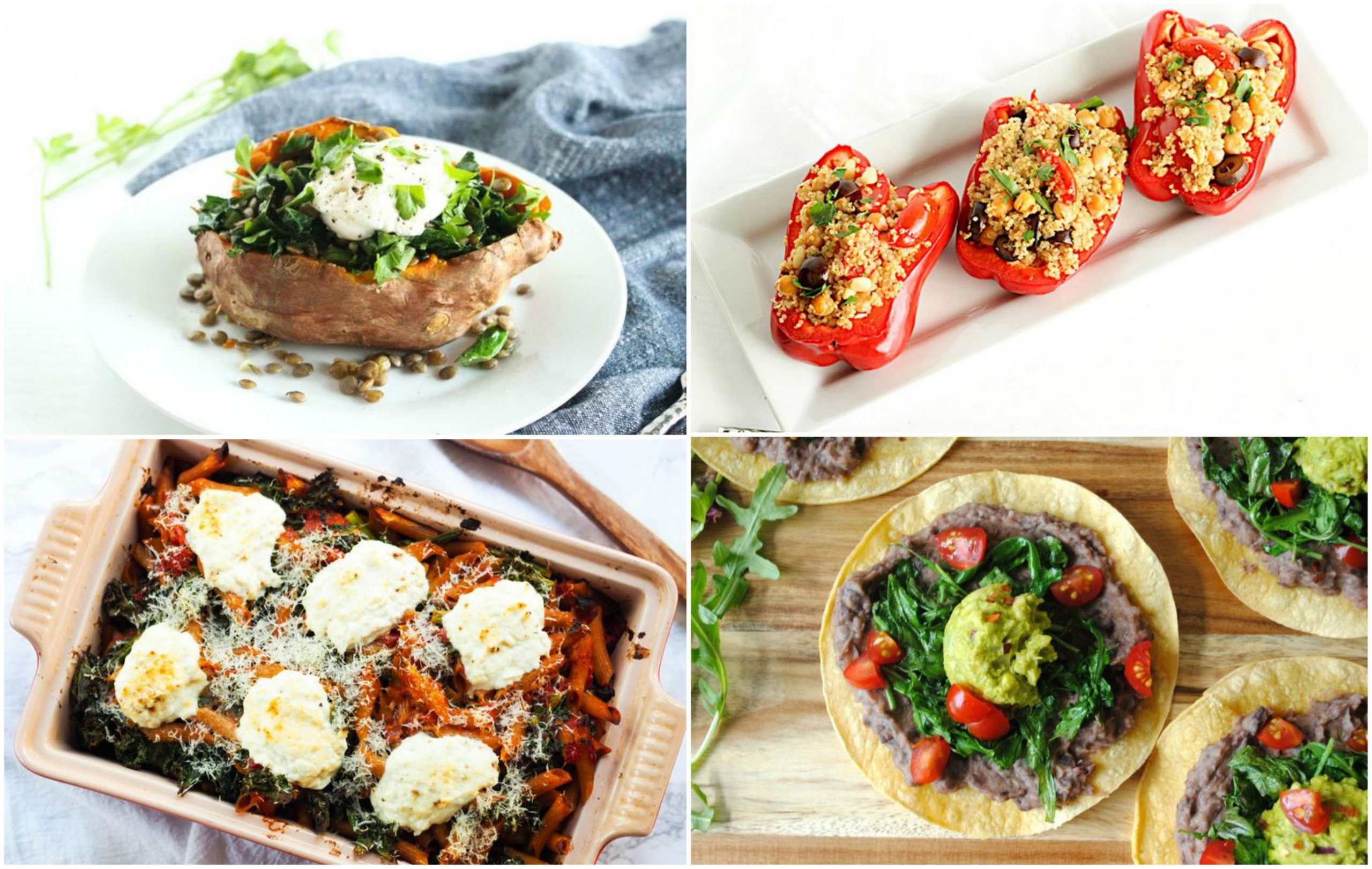 8 Iron-Rich Vegetarian Meals - Healthy Recipes High In Iron