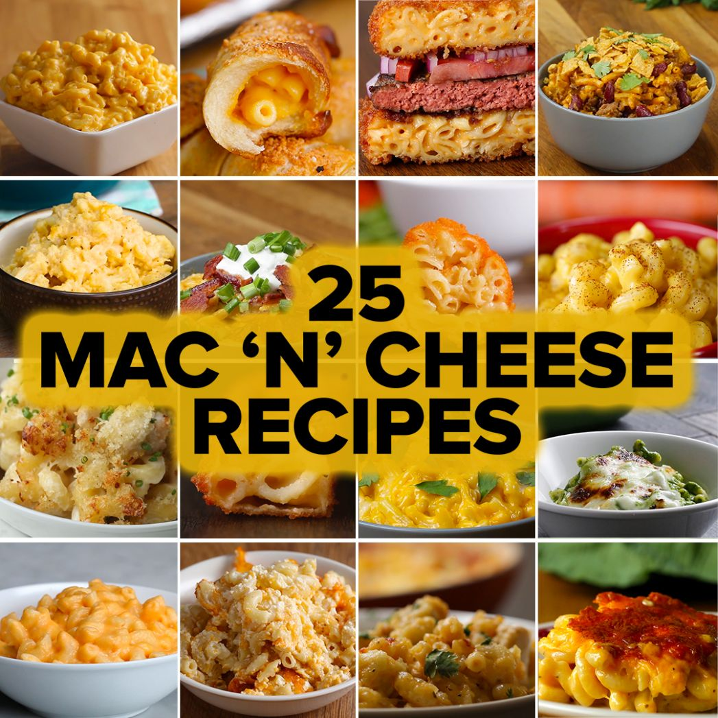 8 Mac 'N' Cheese Recipes