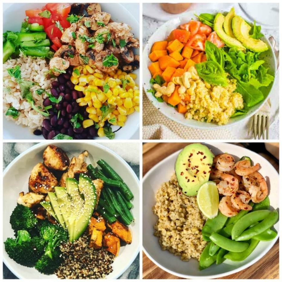 8 macro bowls you can make in advance for healthy lunches - Healthy Recipes Uk