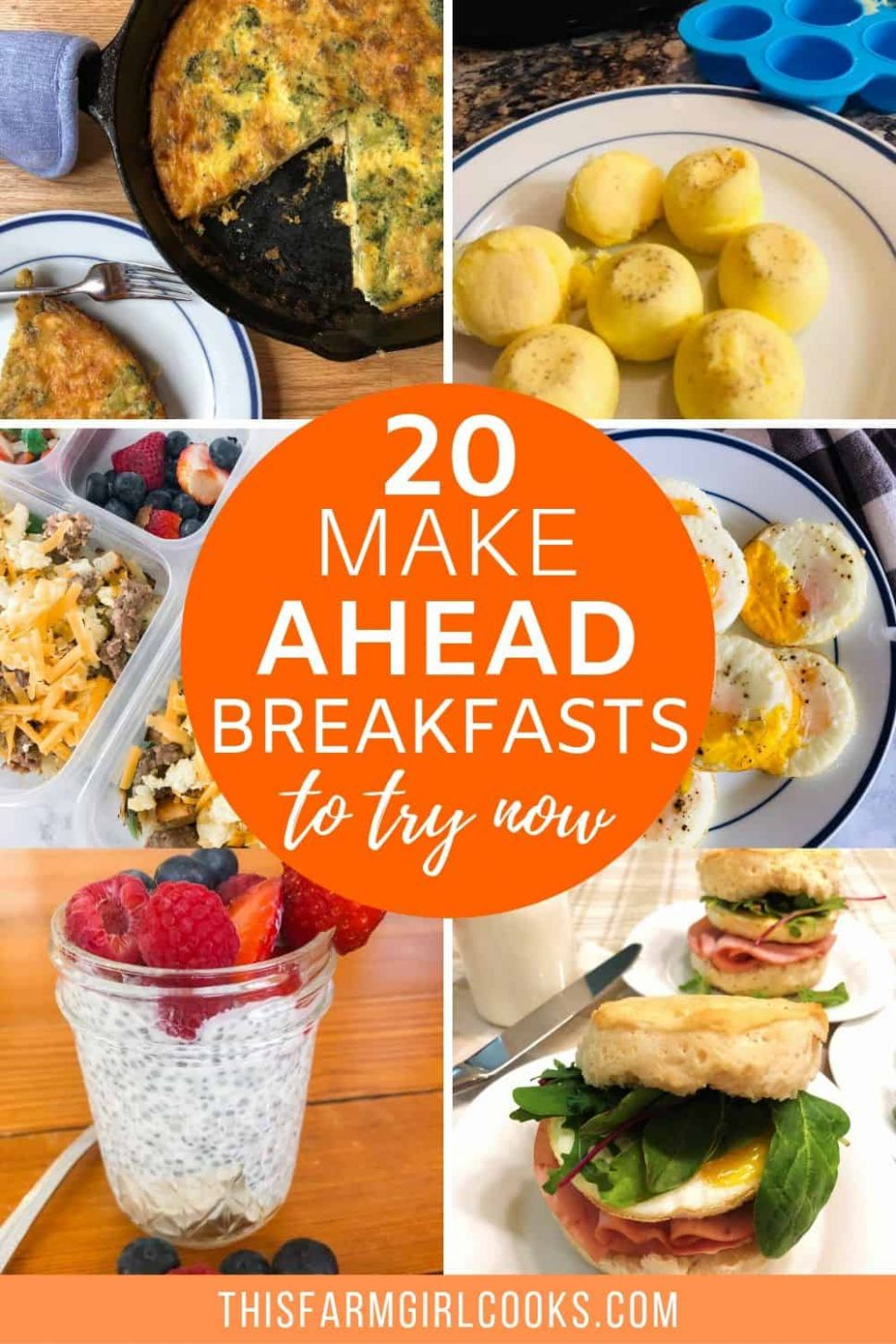 8 Make Ahead Breakfast Ideas That Will Change Your Mornings