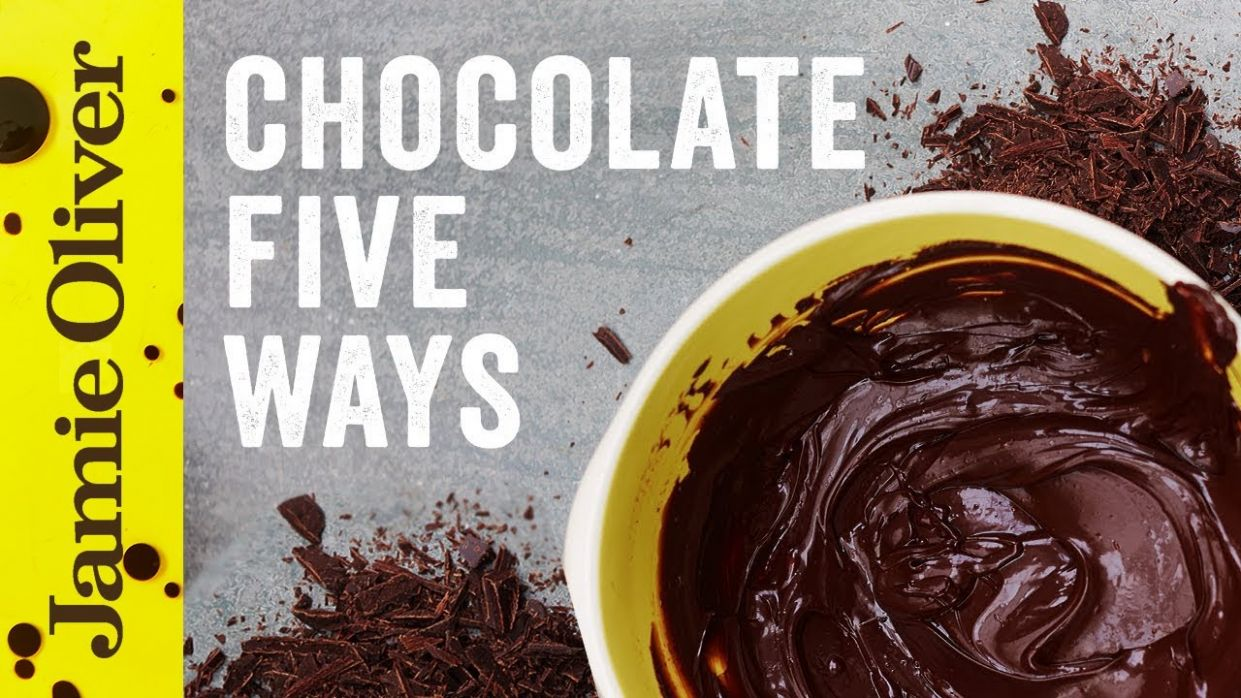 8 things to do with chocolate: Jamie Oliver