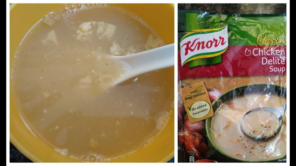 8min Knorr Chicken Soup?