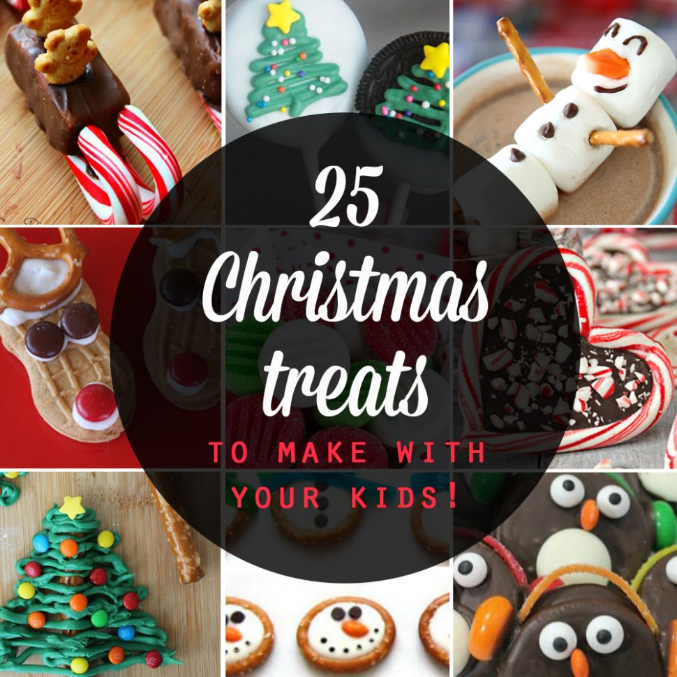 9 adorable Christmas treats to make with your kids - It's Always ...
