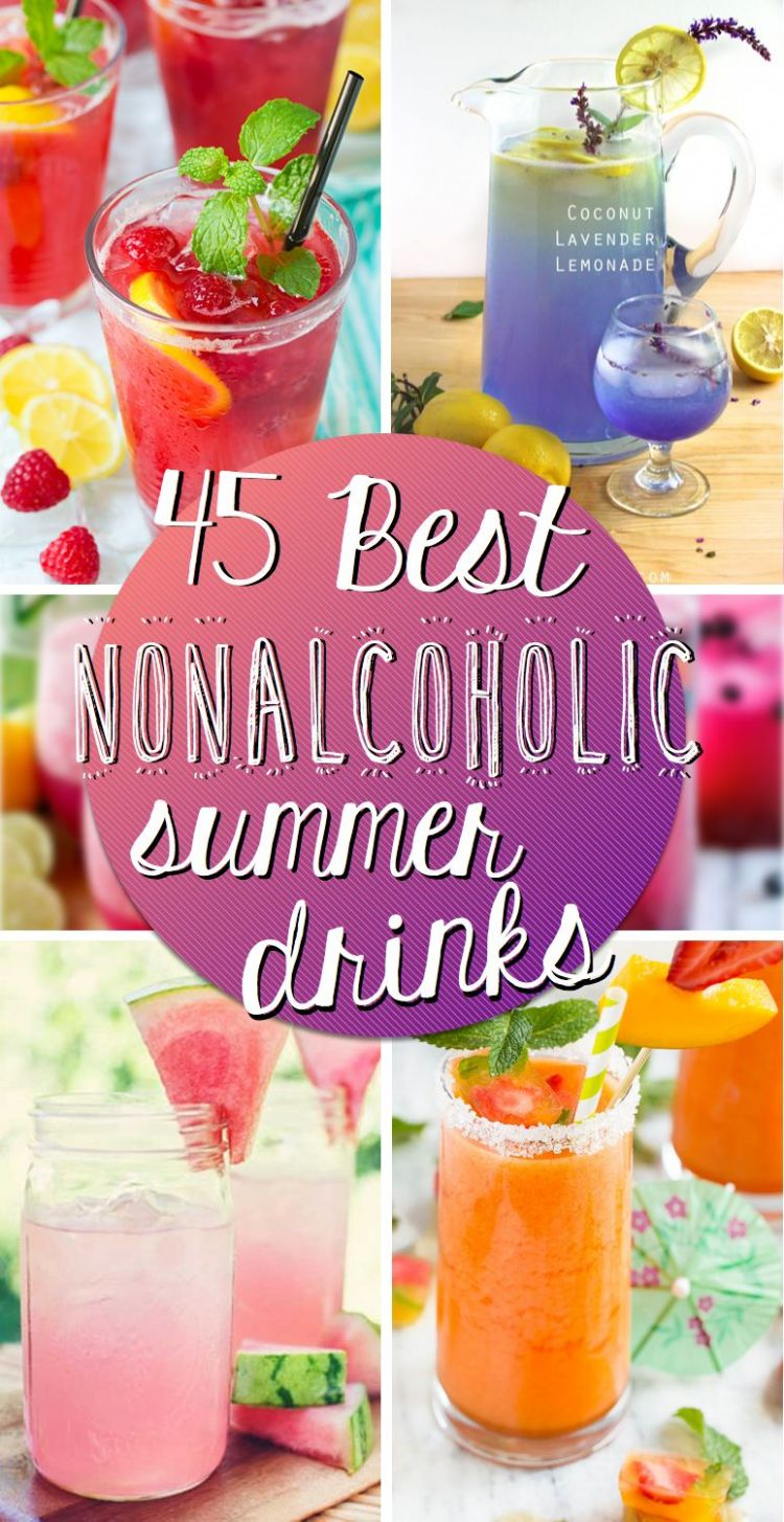 9 Best Nonalcoholic Summer Drinks To Keep Things Subtle ..