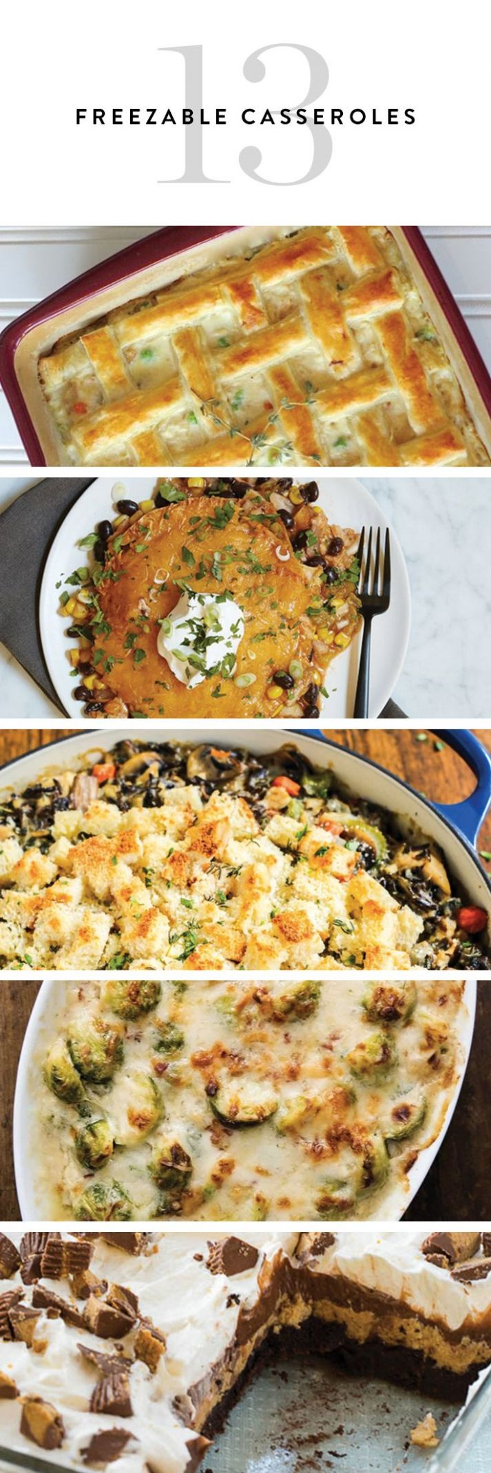 9 Casseroles You Can Freeze and Eat Anytime | Freezable meals ..