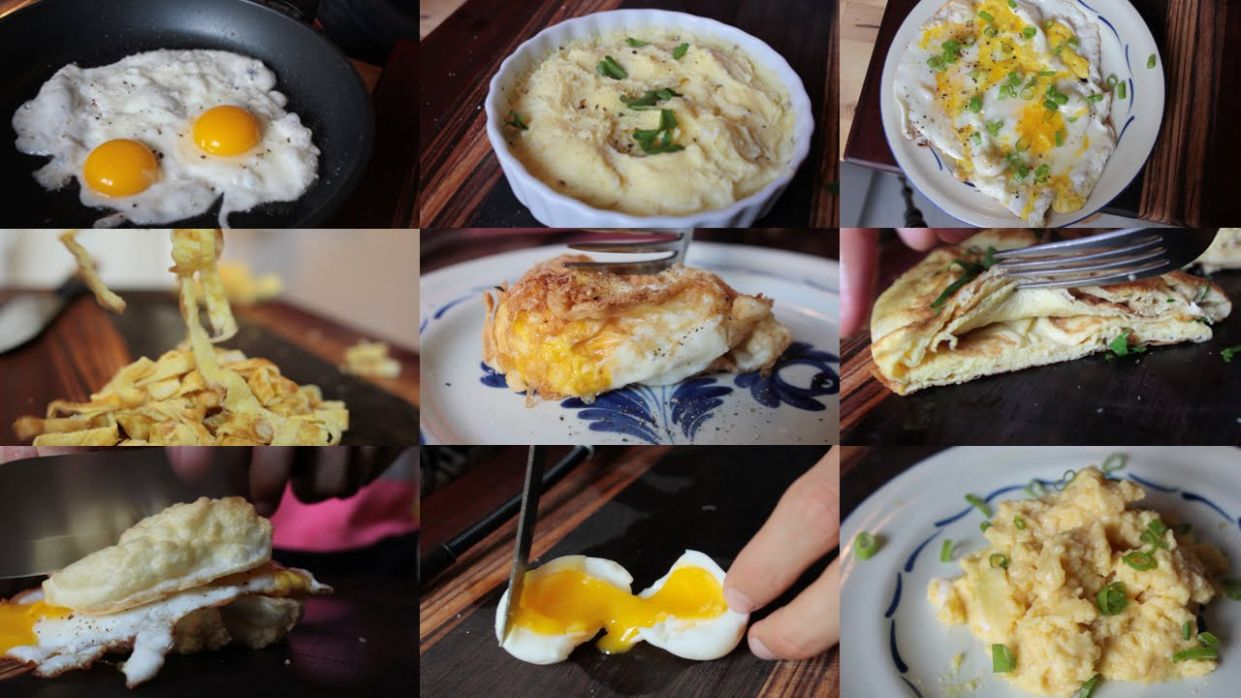 9 Creative Recipes Using Just An Egg