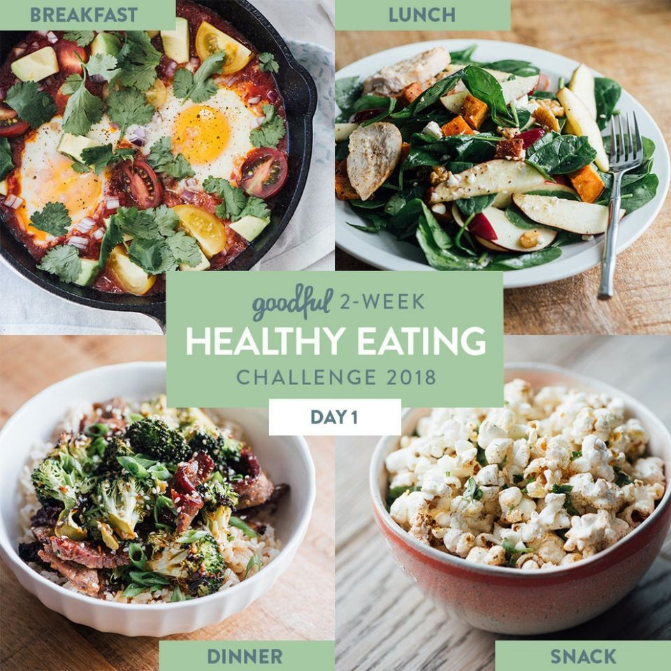9 Days Of Healthy Meals That Actually Taste Good