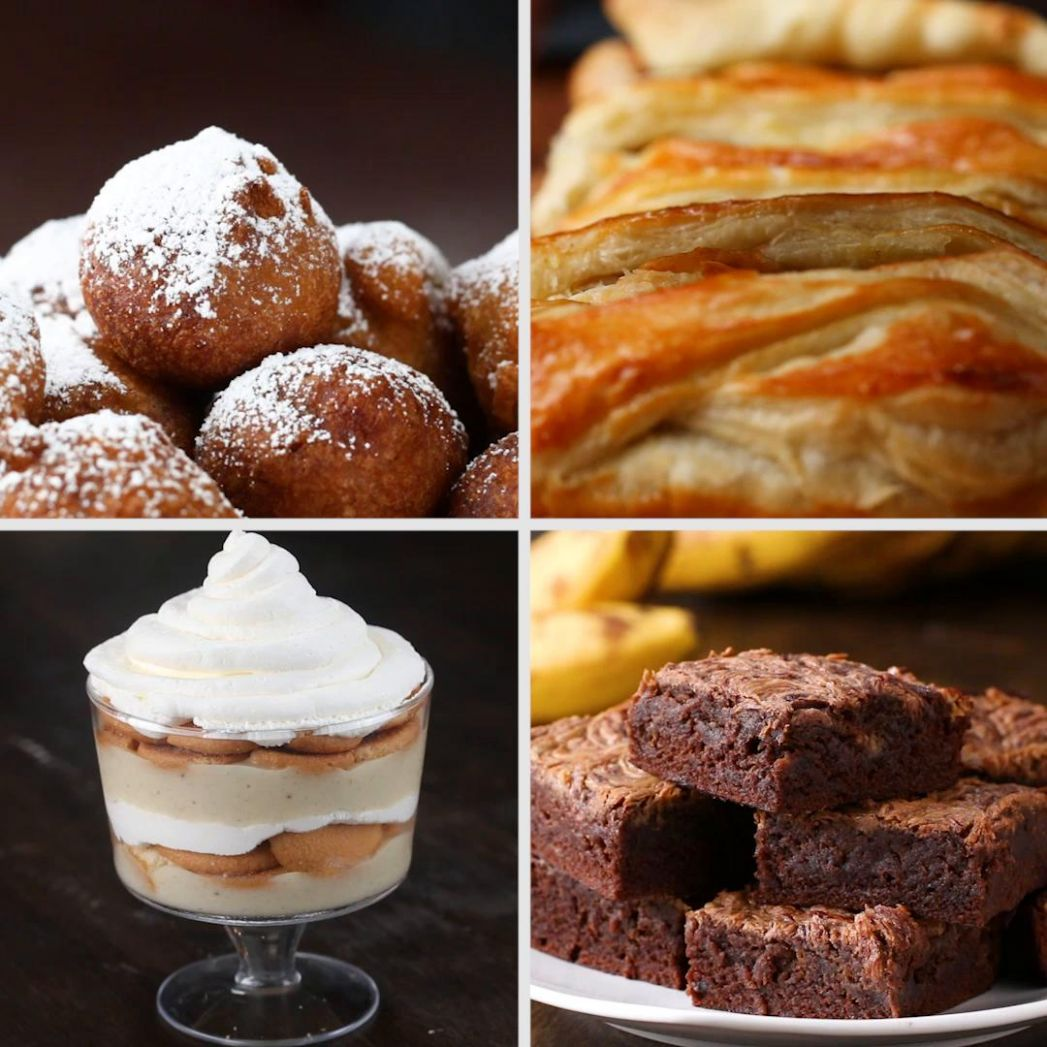 9 Desserts to Make with Ripe Bananas   Recipes
