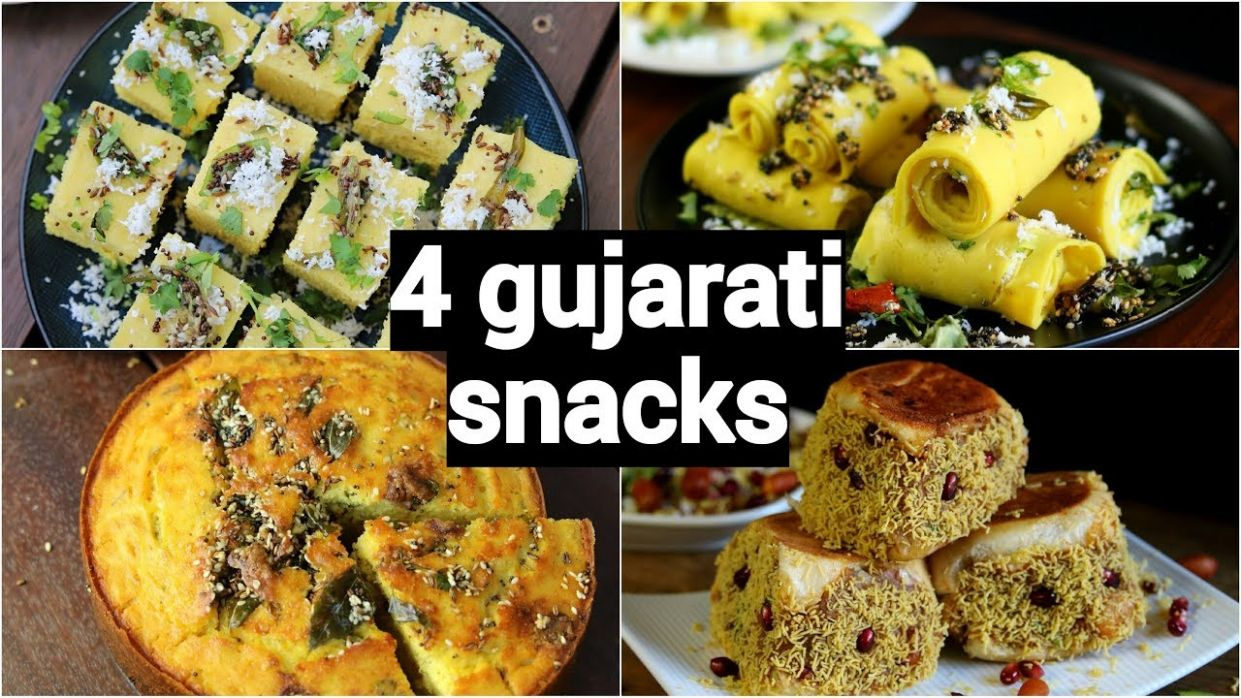 9 easy & quick gujarati snacks recipes | गुजराती नाश्ते की रेसिपी | healthy  gujarati snacks - Gujarati Food Recipes Youtube