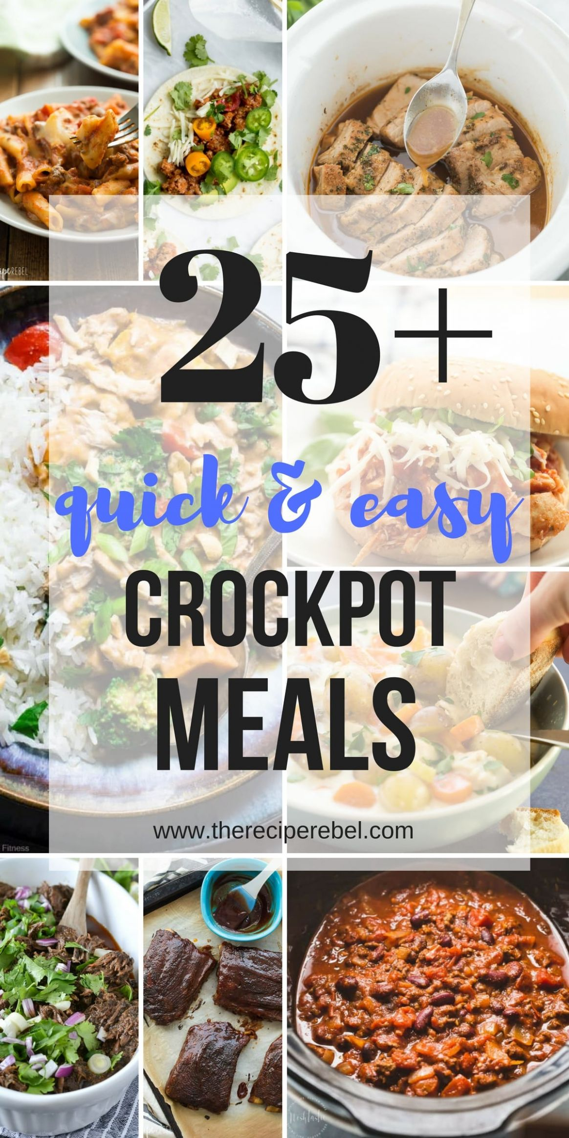 9+ Easy Crockpot Meals (slow cooker dinners you'll make again ...