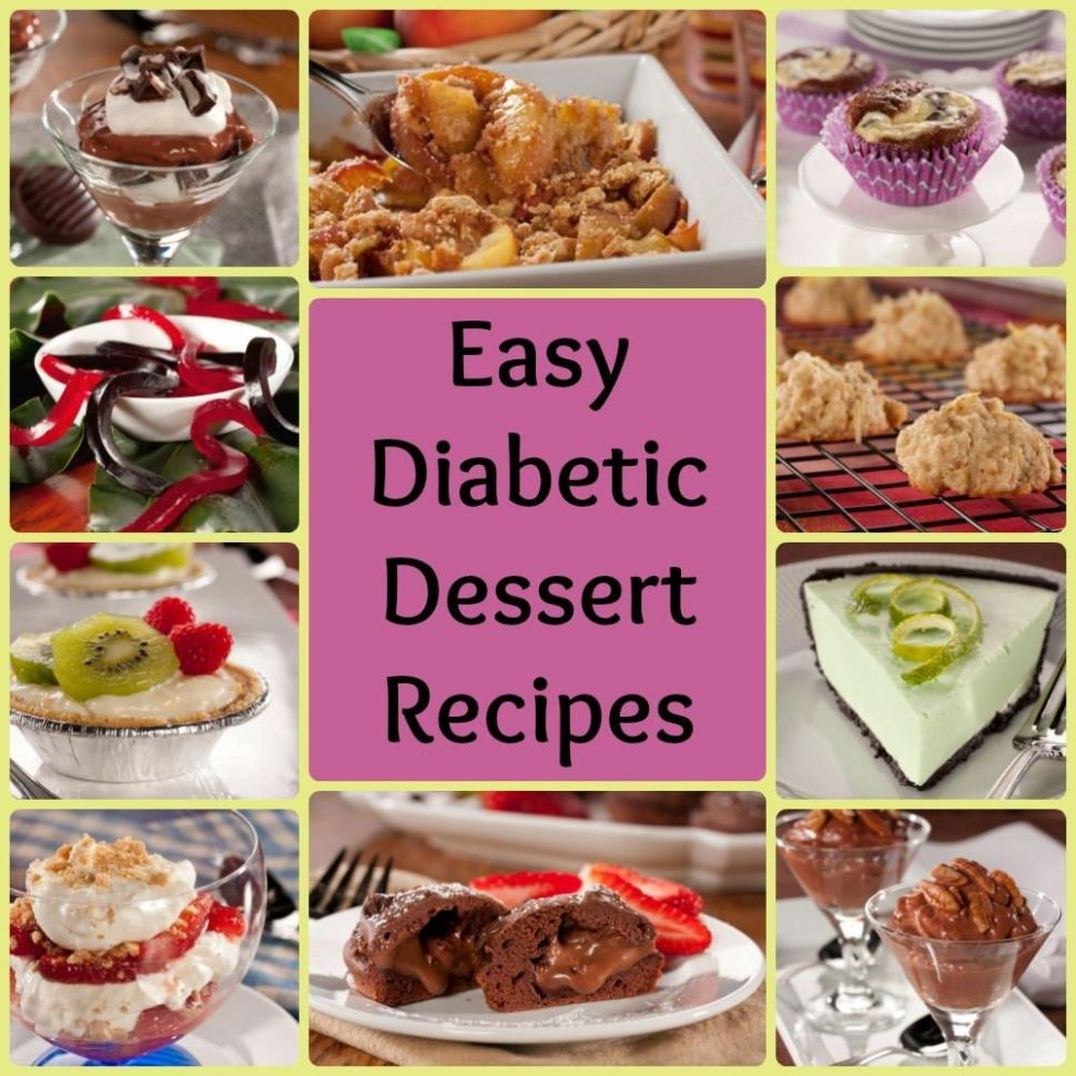 9 Easy Diabetic Dessert Recipes | Diabetic desserts, Dessert ...