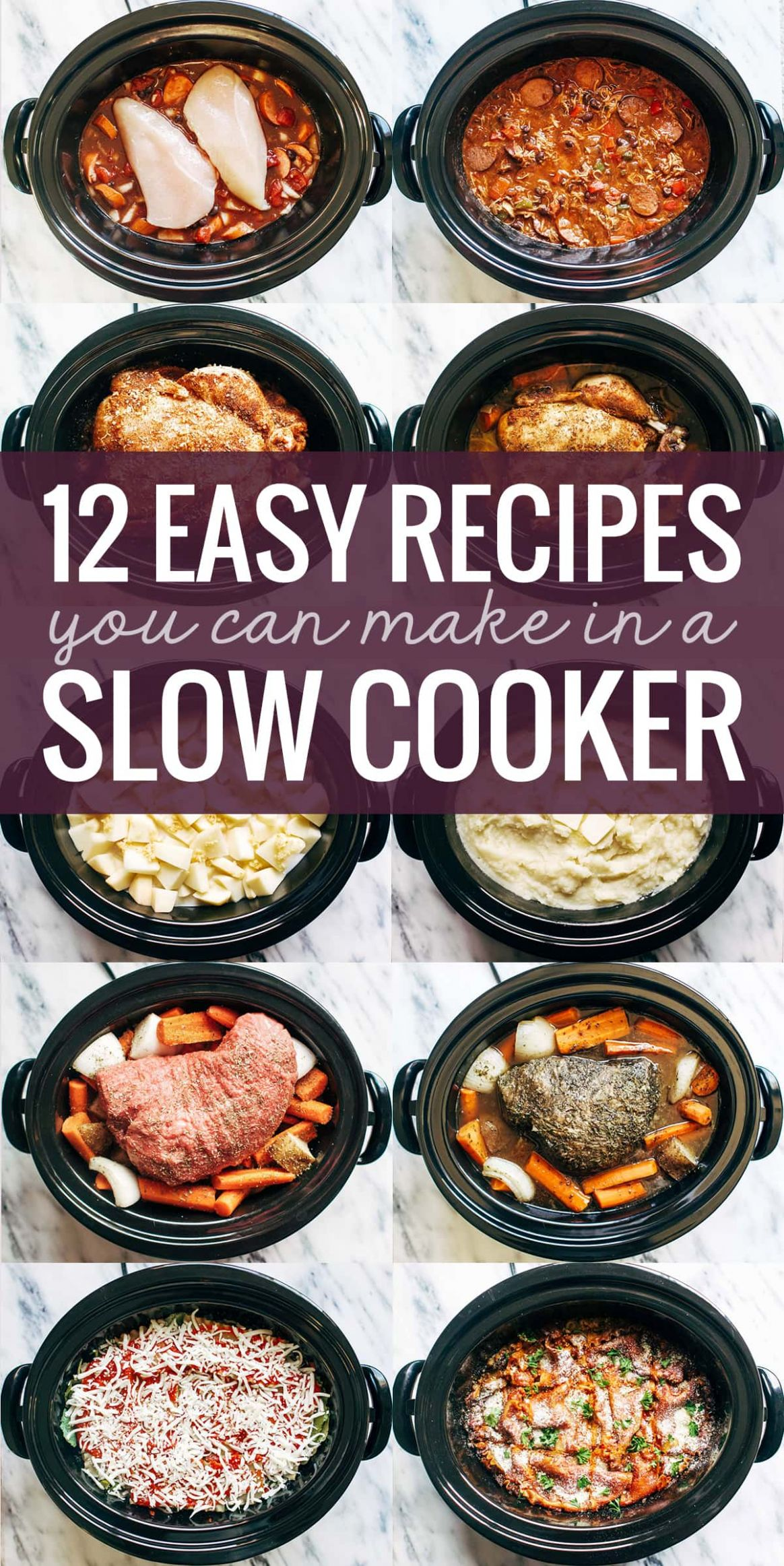 9 Easy Recipes You Can Make in a Slow Cooker - Pinch of Yum