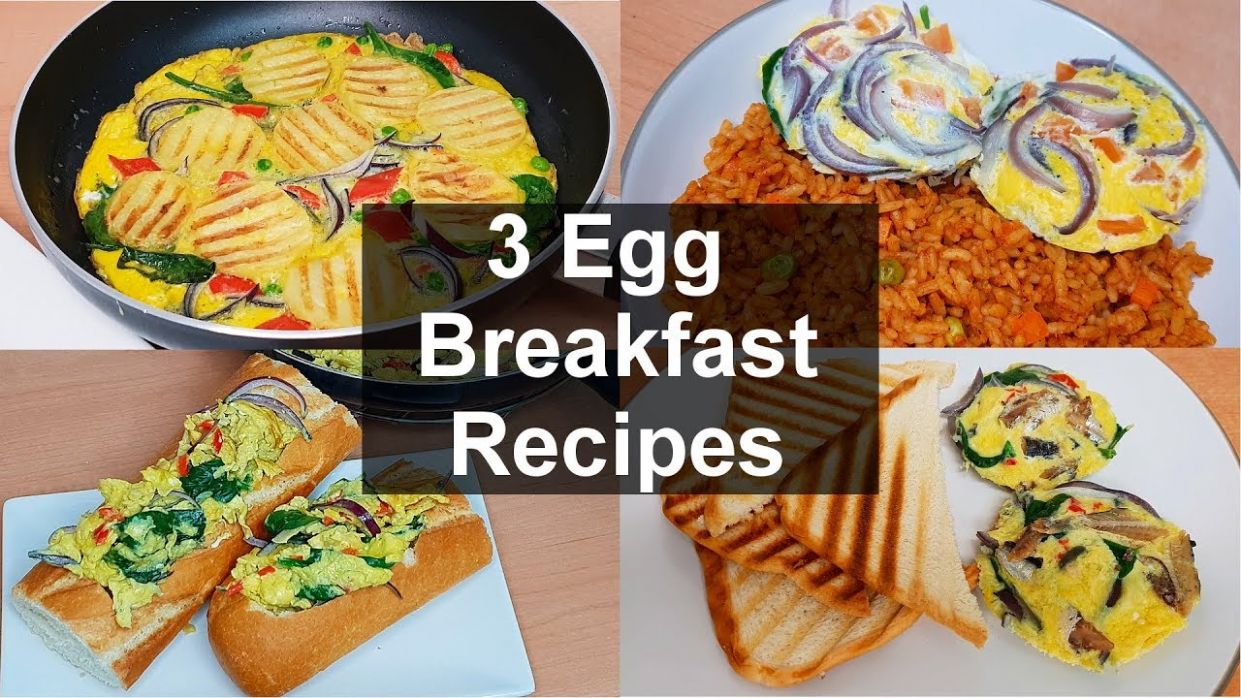 9 Egg Breakfast Recipes to add to your family menu today | Flo Chinyere - Breakfast Recipes Menu