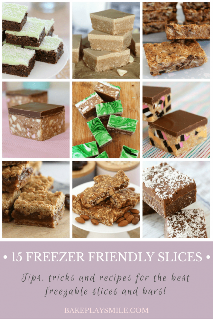 9 Freezer Friendly Slices (the very best ones!) - Bake Play Smile