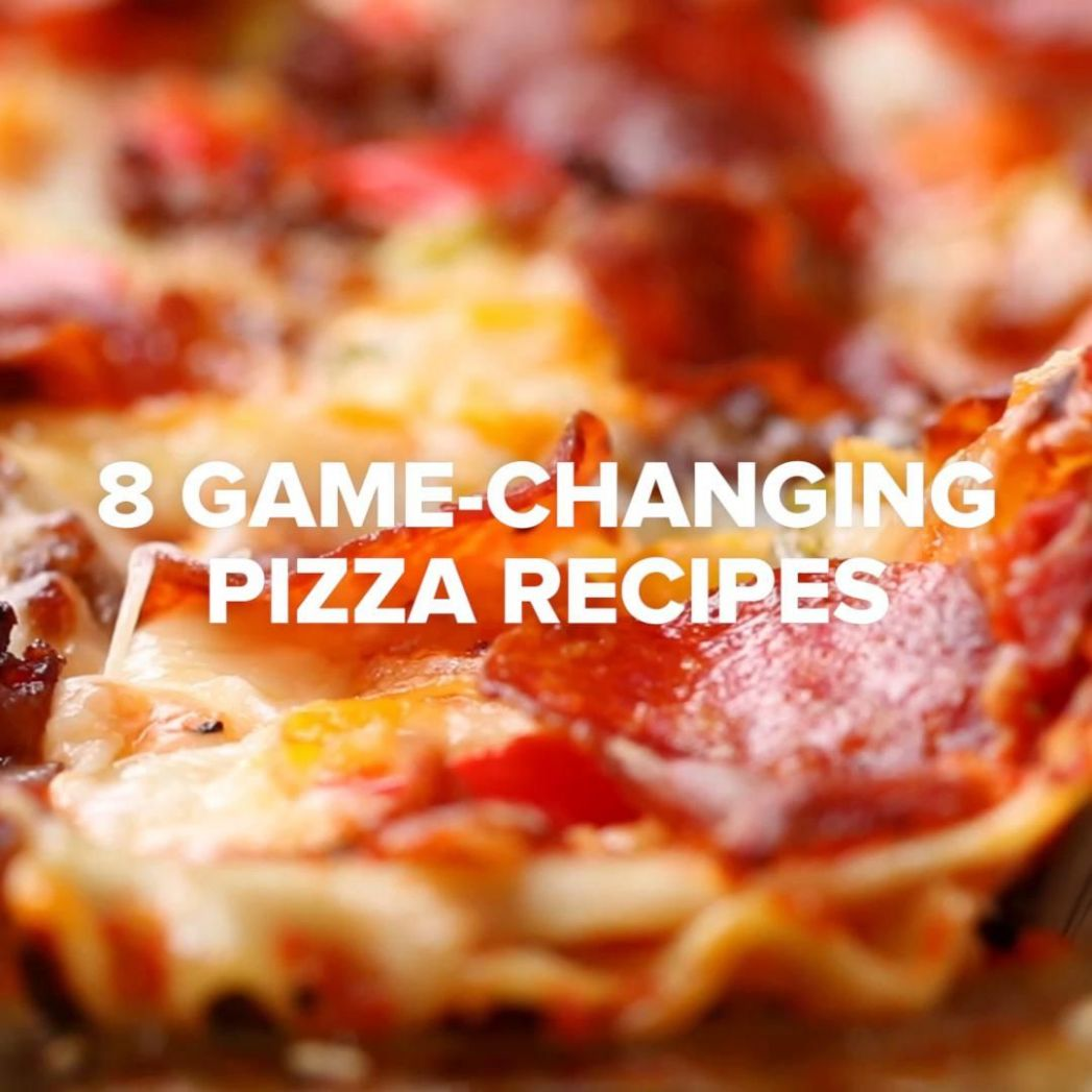 9 Game-Changing Pizza Recipes from Tasty by BuzzFeed | Buzzfeed ...